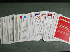 INDIVIDUAL MONOPOLY PROPERTY CARDS 1993 EDITION