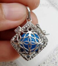 Solid Silver, 925 Balinese Brass Mystic Chime Pendant 24767