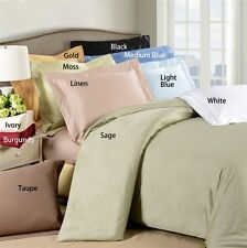 """Hotel Collection 400TC 100% Egyptian Cotton 4PC Sheet Set Solid 8""""Deep Pocket"""