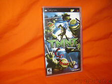 New/Factory Sealed Sony PSP TMNT Play Station Portable NTSC U/C Rated E10+
