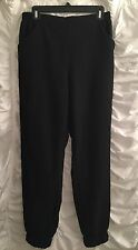 love... ady stretch waist harem pants in black NWT (Sz L) Poly/Rayon/Spandex