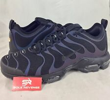 New NIKE AIR MAX PLUS TN ULTRA Black Anthracite Shoes 98015-002 95 c1