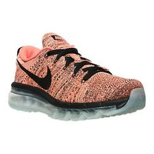 Nike Flyknit Max Womens Size Hyper Orange Sunset Glow Running Shoes 620659 008