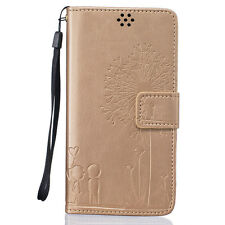 Stand Shield Leather Wallet flip Cover for Samsung Galaxy Mobile Phone Case