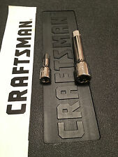 "Craftsman 1/4"" 3/8"" 1/2"" Drive Sockets Extensions Bar Choose Size - For Ratchets"