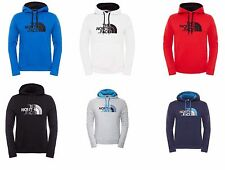 The North Face Mens Hoodie Fleece Lined Hooded Top Drew Overhead Pullover Jumper