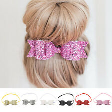 Girls Beautiful Hairband Bow Elastic Band Headband Flower Hair Accessories Party