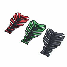 Decal Sticker 3D Motorbike Motorcycle Tank Pad Protector Rubber Universal Emblem