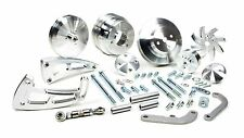 MARCH PERFORMANCE Aluminum Big Block Chevy Serpentine Ultra Pulley Kit P/N 23030