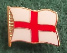 England St. George Flying Flag Pin Badge (1cm Lapel or 1.8cm pin)