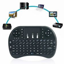 Mini i8+ 2.4Ghz Wireless Keyboard Touchpad Mouse Touchpad For PC Tv Box Backlit