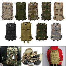 3P Military 30L Tactical Backpack Oxford Sport Bag for Camping Traveling-Hiking