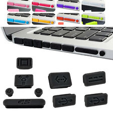 Silicone Anti Dust Plug Port Protective Case Cover for Laptop Macbook Air Retina