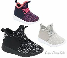 New Toddler Youth Boys Girls Sneakers Tennis Shoes Casual Sport Kids High Top