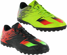 Adidas Messi 15.4 TF Football Astro Turf Mens AdiFit Traxion Lace Trainers
