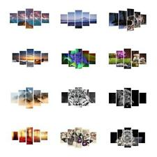 5Pcs/Set Canvas Decorative Wall Modern Art Painting Picture Print No Framed