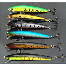 Lure Minnow Fishing Hard Baits Bass Crankbait Sharp Hooks Fishing Tackle Quality