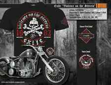 "Official Exile Cycles ""Streets"" T-Shirt -Harley Davidson, Chopper, Bobber, Trike"