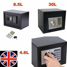 New Strong Steel Electronic Locking Home Safe Digital Security Money Cash Box