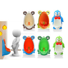 Cute Frog/Penguin Kid Baby Potty Toilet Training Urinal Boy Pee Trainer Bathroom