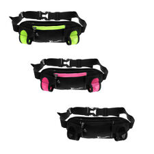 Running Belt Bum Waist Pouch Fanny Pack Hiking Sport Water Bottle Holder Zip Bag