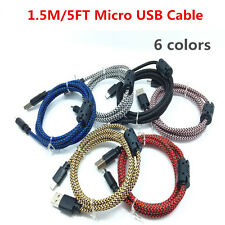 1.5M/5FT Over 2A Micro USB TPE Cable High Speed Data Sync Charger Cable Cord