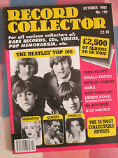 Record Collector Magazine Oct 1992 158 Beatles Madonna Queen Prince Pink Floyd