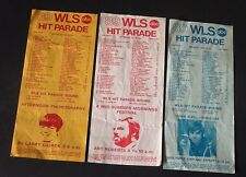WLS Radio 89 Chicago Hit Parade Music Surveys August 1970 Lot of 3