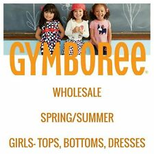 GYMBOREE GIRLS SPRING/SUMMER WHOLESALE LOT RV $250 YOU PICK SIZE NWT