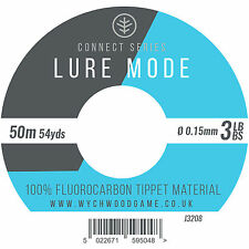 Wychwood Connect Series Lure Mode Fluorocarbon 50m Tippet - 3 - 10lb - 10pk
