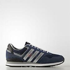Shoes Adidas NEO 10K AW3855 Vintage Man Leather Conavy White sneakers