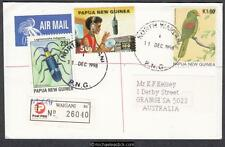 PNG Postmark 1998 (Dec) NORTH WAIGANI (Post Office Opening Day)(Registered)