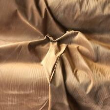 "Reversible Tan & Denim Suedette 60"" wide Polyester Suede Dress Fabric 150cm wide"