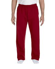 Gildan 12300 Sweat Pant Men's DryBlend 9.3 oz 50/50 Open-Bottom Casual