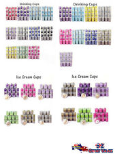 Bulk Paper Cake Cups Ice Cream Cups Drinking Cups Chevron Polka Dots Partywares