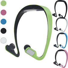 Headband Wireless Card FM Stereo Radio Function MP3 Sports Mic Headset Earphones