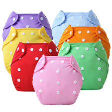 Reusable Baby Infant Nappy Dotted Cloth Diapers Soft Covers Adjustable Gracious