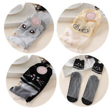 Lace Sock 1 Pairs Women Comfy Ankle Socks Elastic New Mesh Cotton Knit