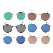 3447 Fashion Metal Frame Sports Sunglasses Colorful Lens UV400 Sunglasses BK