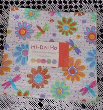 "MODA  FABRIC ""HI-DE-HO""  BY ME AND MY SISTER DESIGN LAYER CAKE OOP"