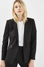 TOPSHOP *Black Tailored Suit Jacket* SIZE_UK6_8_10_12_14_16