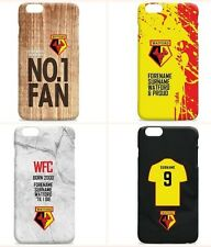 Personalised WATFORD Football Club FC Phone Case iPhone Samsung Cover