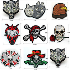 Vintage Embroidered Applique Iron On Patch design DIY Sew Iron On Patch Badge