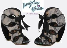 Irregular Choice Shoulda Woulda Coulda Marble Ankle Booties UK3.5 EU36