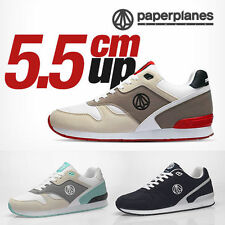 Paperplanes Mens Taller Athletic Shoes Fashion Sports Running Sneakers 1367 UK
