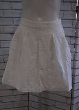 NEW FAT FACE WHITE AMERSHAM BRODERIE ANGLAISE SKIRT SIZE 16
