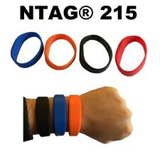 NTAG®215 Waterproof Silicone Wristband