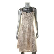 Nine West 4714 Womens Mesh Sequined Party Cocktail Dress BHFO