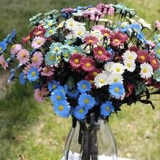 Artificial Daisy Simulation Blooming Flowers Plants Home Wedding Party Decor