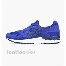 Shoes Asics Gel Lyte V H733N 4549 Sneakers Man Synthetic Running Blue Indigo Spo